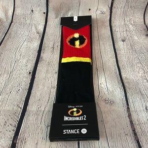 "Stance Pixar Incredibles II ""i"" Symbol Socks"